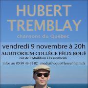 Hubert Tremblay, chansons du Québec