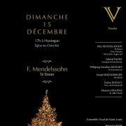 Te Deum de Mendelssohn pour choeur et orgue