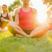 Yoga au Parc du Heyritz
