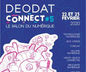 Salon du Numérique Déodat Connect 5 à Saint-Dié 2020