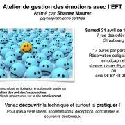 Atelier de gestion des émotions avec l\'EFT