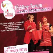 Théâtre forum : Sages précautions