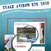 Stage Aviron Jeunes 10 à 15 ans Juillet-Août