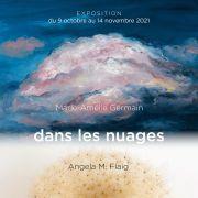 Exposition « dans les nuages » Marie-Amélie Germain et Angela M. Flaig à la Galerie Nicole Buck
