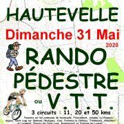 Rando Pédestre ou VTT Hautevelle 70