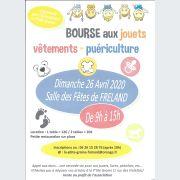Bourse aux jouets, vêtements, puériculture à Fréland 2020