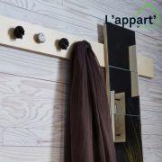 Afterwork création : fabriquer un porte-manteau miroir