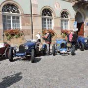 Hommage aux Bugatti et leur patron