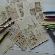Atelier enfant : Carte postale