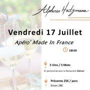 """Apéro Gourmand chez le Vigneron - """"Made In France"""""""