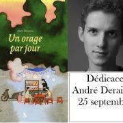 Dédicace André Derainne sur \
