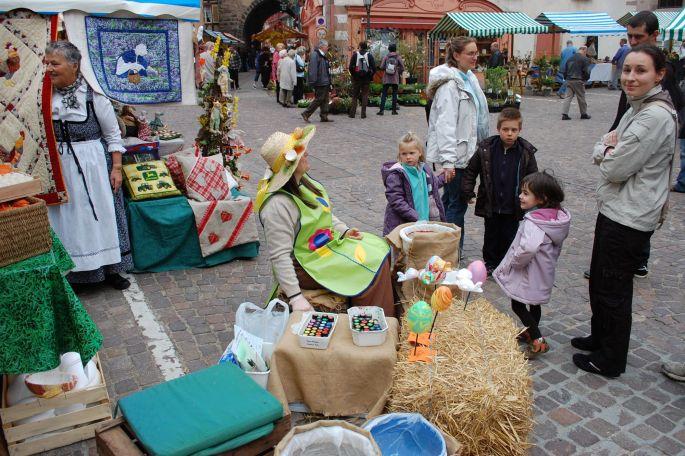 Le Marché paysan de printemps fête l\'arrivée des beaux jours à Ribeauvillé
