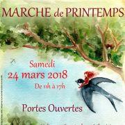 Marché de printemps et Portes ouvertes