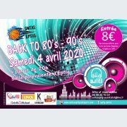 Soirée Back to 80\'s - 90\'s