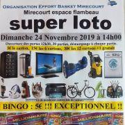 Super loto à Mirecourt