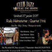 Railo Helmstetter : Quartet Ytré