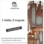 1 visite, 2 orgues