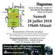 Le Jardin Musical édition 2018