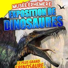 Le Musée Ephémère : exposition de dinosaures