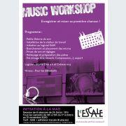 Music Workshop – Enregistrer et mixer sa première chanson !