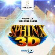 Nouvelle Machine à Sous Sphinx 3D