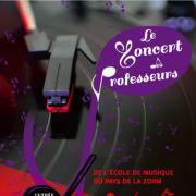 Concert des Professeurs de l\'Ecole de Musique du Pays de la Zorn