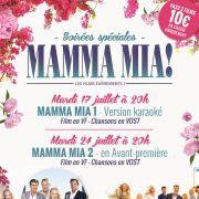 Soirées Spéciales : Mamma Mia 1 & 2