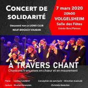 Concert de solidarité - Lions Club