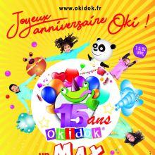 2 semaines d\'animations pour les 15 ans d\'Okidok !