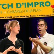 Match d\'impro : 6ème B vs Cabarez-de-Jardin