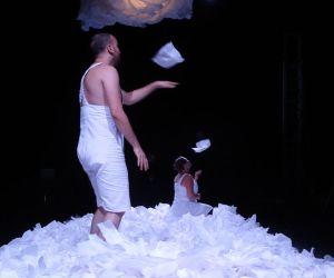 Sous la neige - Théâtre visuel