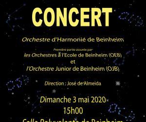Concert de l'Orchestre d'Harmonie de Beinheim