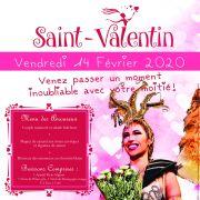 Soirée Saint-Valentin au Cabaret