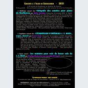 Concert par Francis Jacob : \