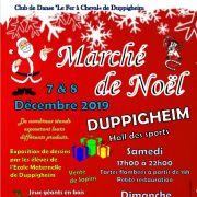 Marché de Noël à Duppigheim