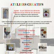 Ateliers arts créatifs