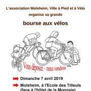 Bourse aux vélos à Molsheim 2020