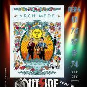 Archimède en concert à Colmar