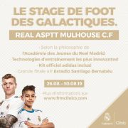 Stage de foot galactique avec la fondation Real Madrid