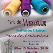 Puces des Couturières à Husseren-Wesserling