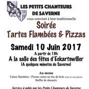 Soirée Tartes Flambées et Pizzas des Petits Chanteurs de Saverne