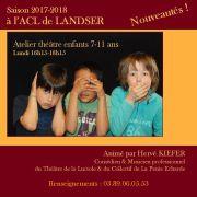 Atelier théâtre enfants 7-11 ans