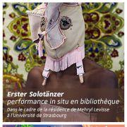 Nuits de la lecture | Erster Solotänzer, performance in situ en bibliothèque