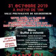 Soirée Halloween à Geudertheim