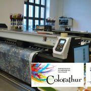 Semaine Textile : visite de Colorathur