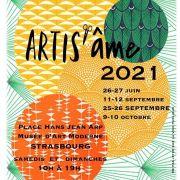 Marché des créateurs sur la place Hans Jean Arp à Strasbourg