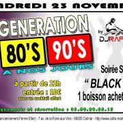 Soirée années 80 Black Friday