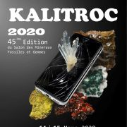 45e Salon minéraux et fossiles Kalitroc à Wittelsheim 2020