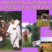 Des aprenteurs romains aux géomètres d\'aujourd\'hui