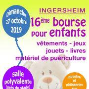 Bourse aux vêtements d\'enfants, jouets et puériculture à Ingersheim